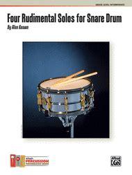 Book report snare rudiment